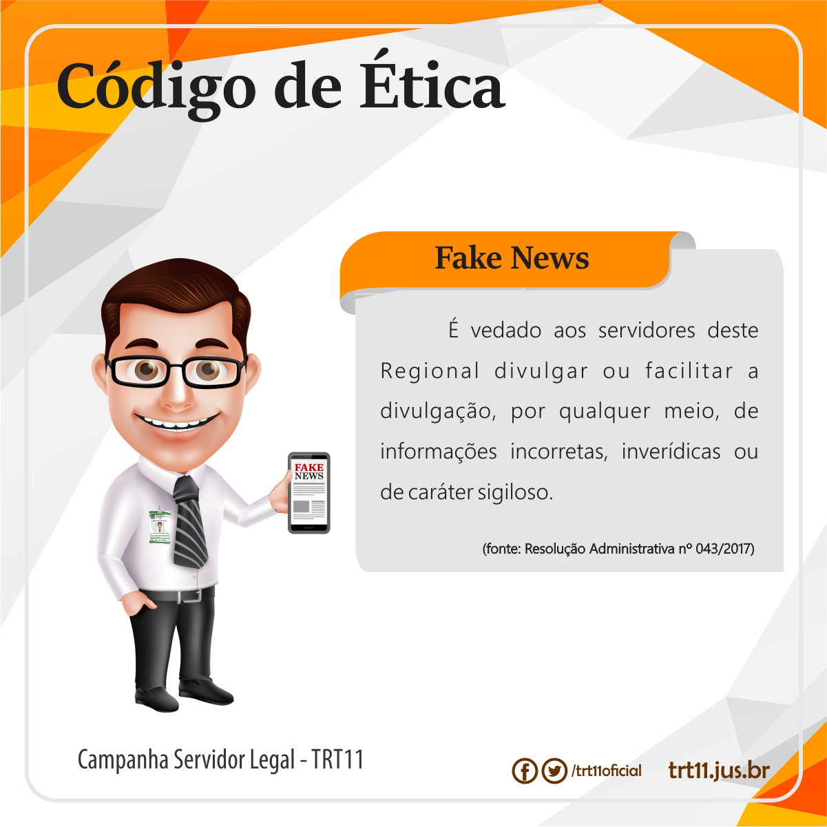 10 Campanha Servidor Legal Fake News